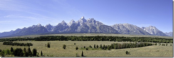Grand Tetons Panorama2
